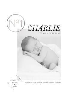 N 1 - Birth Announcement