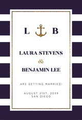 Anchor and Stripes - Engagement Announcement