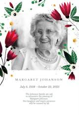 Spring Hug - Memorial Card