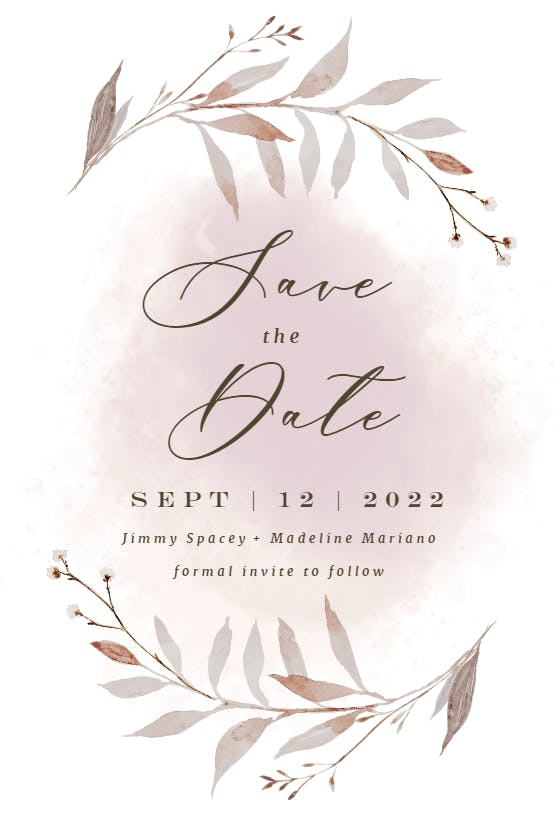 Kraft Sunflower Editable Save the Date Card Template Online Save the Date Text Rustic Email Electronic Online Invitation Save Date Card DIY