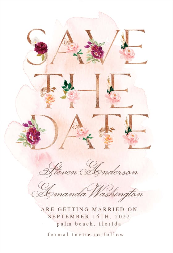 Save the Date DIGITAL DOWNLOAD