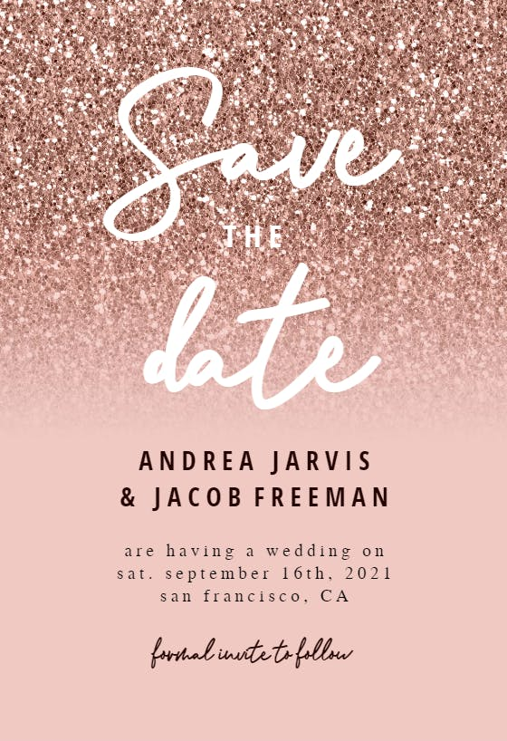 Save the Date Template with Photo Printable Save the Date Card Photo Save the Dates Templett Editable Save the Date with Pictures S043
