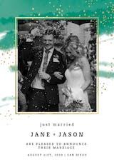Fresh & Fancy - Wedding Announcement