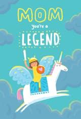 Legendary - Birthday Card