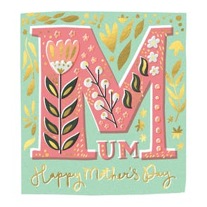 Mum's the Word - Mother's Day Card