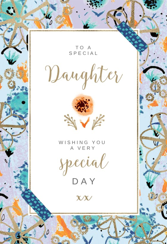 Birthday Cards For Daughter Free Greetings Island