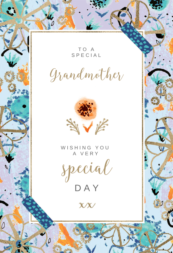 It's just a graphic of Printable Birthday Cards for Grandma pertaining to creative