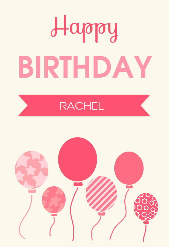 Birthday Greetings   Printable Birthday Card  Birthday Cards Format