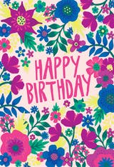 Climbing Color - Birthday Card