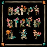 Colorful Contrast - Birthday Card