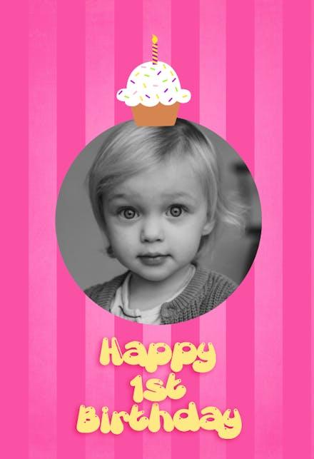 Happy 1St Birthday Birthday Card | Greetings Island