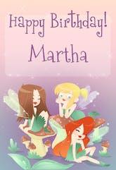 Birthday Fairies - Birthday Card