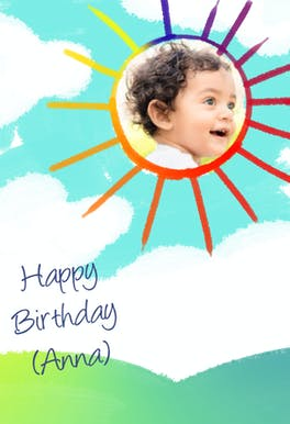 Colorful Day - Birthday eCard