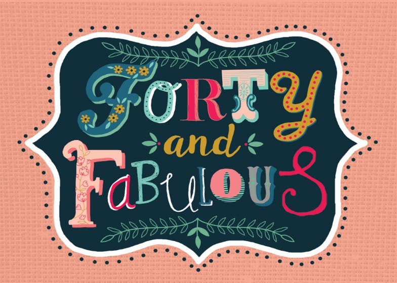 Fancy Fonts 40 Free Birthday Card Greetings Island