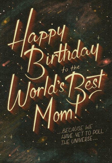 Birthday Cards For Mom (Free)   Greetings Island