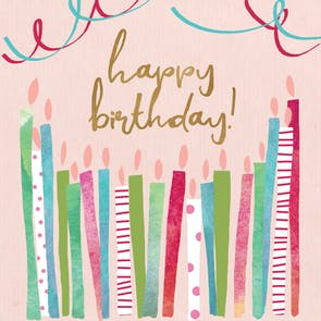 All the Candles - Happy Birthday Card