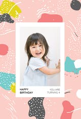 Artistic Painting - Happy Birthday Card