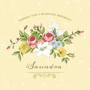 Beautiful Day - Happy Birthday Card