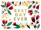 Best Day Ever - Happy Birthday Card