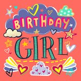 Birthday girl - Happy Birthday Card