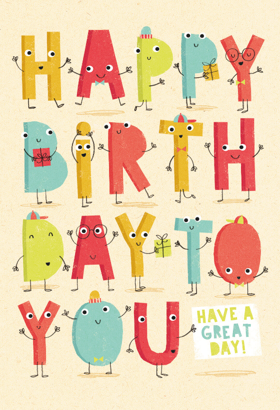 Tremendous Cheer Block Birthday Card Free Greetings Island Funny Birthday Cards Online Aboleapandamsfinfo