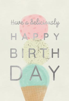 Cheers for Spheres - Printable Birthday Card