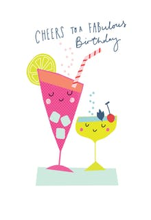 Cheers to Your Years - Happy Birthday Card