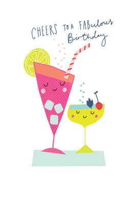 Cheers to Your Years - Card