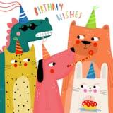 Coooolest friends - Happy Birthday Card