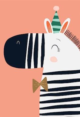 Fun Stripes - Birthday Card