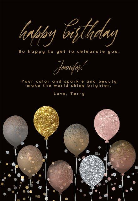 Happy Birthday Glitter Pics