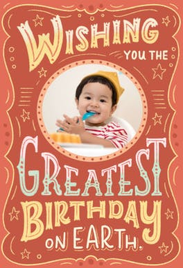 Greatest Birthday - Happy Birthday Card