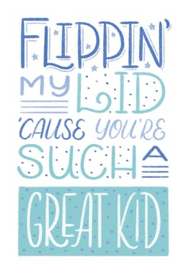 Greatness - Birthday Card