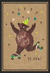 Grrreat Day - Happy Birthday Card
