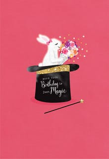 Hat Trick - Birthday Card