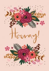 Hooray! - Happy Birthday Card