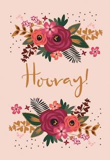 Hooray! - Birthday Card