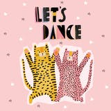 Let's Dance - Happy Birthday Card