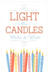 Make a Wish - Happy Birthday Card