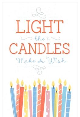 Make a Wish - Birthday Card