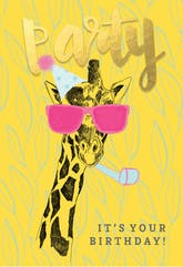 Party Animal - Happy Birthday Card