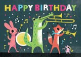 Party Parade - Happy Birthday Card
