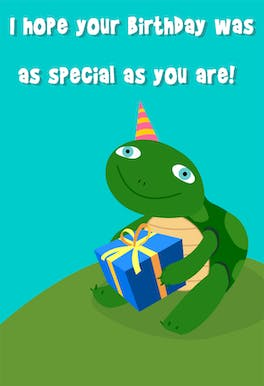 Special as You Are - Printable Birthday Card