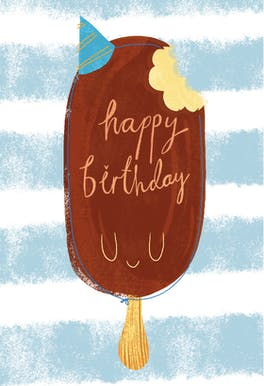 Sweet Bite - Happy Birthday Card