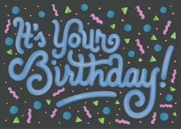 Timeless - Birthday Card