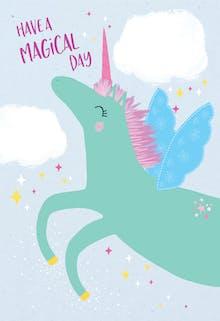 Unicorn day - Tarjeta De Cumpleaños