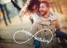 Unlimited Love - Happy Birthday Card