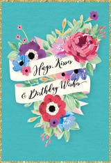 Vintage Echo - Happy Birthday Card