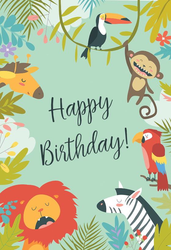 image relating to Printable Birthday Cards for Boys known as Birthday Playing cards For Little ones (Absolutely free) Greetings Island