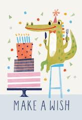 Wishful Thinking - Happy Birthday Card
